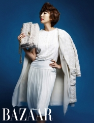 Kim Nam Joo для Harper's Bazaar Korea April 2012