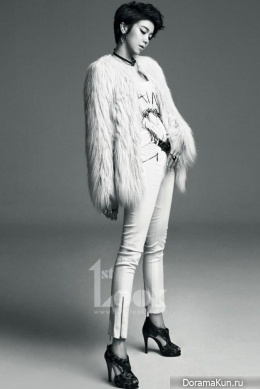Kim Ok Bin для First Look Magazine 2013