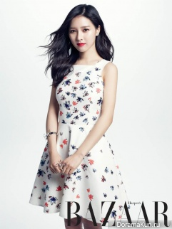 Kim So Eun для Harper's Bazaar May 2014