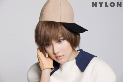 Kim So Eun для Nylon Korea January 2012
