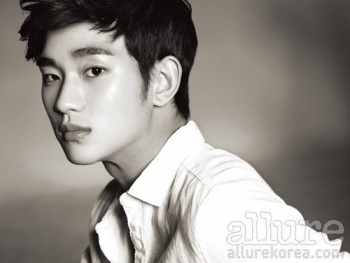 Kim Soo Hyun для Allure Korea April 2012