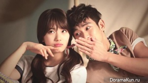 Kim Soo Hyun, Suzy для Bean Pole Outdoor 2013 CF