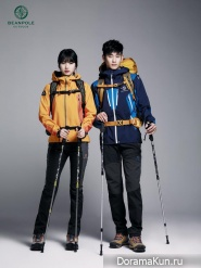 Kim Soo Hyun, Suzy для Bean Pole Outdoor SS2013 Ads Extra