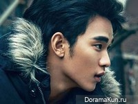 Kim Soo Hyun для Dazed & Confused November 2013 Extra
