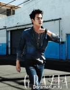 Kim Soo Hyun для GRAZIA Korea August 2013