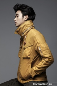 Kim Soo Hyun для ZIOZIA Fall 2012 Ads