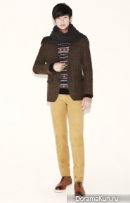 Kim Soo Hyun для ZIOZIA Winter 2012 Ads