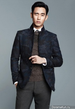 Kim Soo Hyun для ZIOZIA Winter 2013