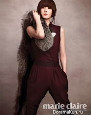 Kim Sun Ah для Marie Claire October 2012 Extra