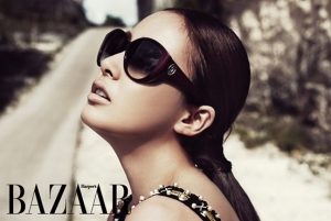 Kim Tae Hee для Harper's Bazaar Korea May 2011