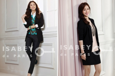 Kim Tae Hee для Isabey De Paris Spring 2012 Collection