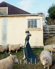 Kim Tae Hee для Vogue Korea March 2010