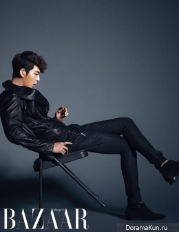 Kim Woo Bin для Harper's Bazaar Korea November 2013