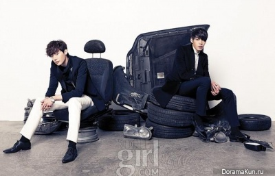 Kim Woo Bin и др. для Vogue Girl January 2013