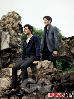 Kim Young Kwang, Jung Suk Won для GQ 2010