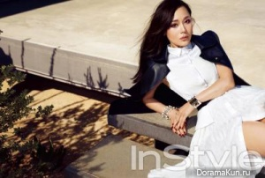 Kim Yun Jin для InStyle Korea September 2013
