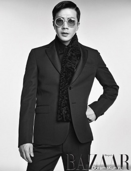 Kwon Sang Woo для Harper's Bazaar Korea September 2013