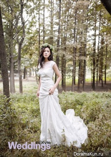 Kyung Soo Jin для InStyle Weddings November 2013