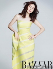 Lee Bo Young для Harper's Bazaar March 2014