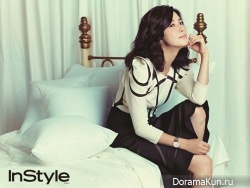 Lee Bo Young для InStyle Korea September 2013