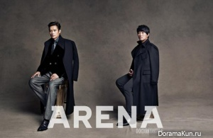 Lee Byung Hun и др. для Arena Homme Plus December 2012