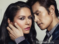 Lee Byung Hun, Catherine Zeta Jones для Elle August 2013