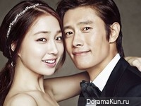 Lee Byung Hun, Lee Min Jung для Elle Korea September 2013