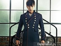 Lee Byung Hun для InStyle October 2012