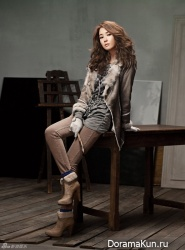 Lee Da Hae для Arnaldo Bassini Winter 2011