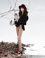 Lee Da Hae для Arnaldo Bassini Winter 2012 Ads