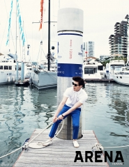 Lee Dong Wook для Arena Homme Plus Korea May 2012