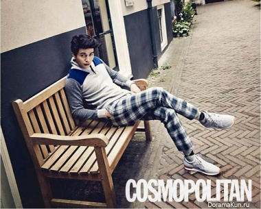 Lee Dong Wook для Cosmo Men Korea September 2013