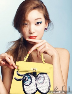 Lee Ho Jung для CeCi April 2014