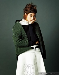 Lee Ho Jung для Vogue Girl September 2013