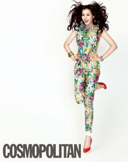Lee Honey для Cosmopolitan Korea July 2012