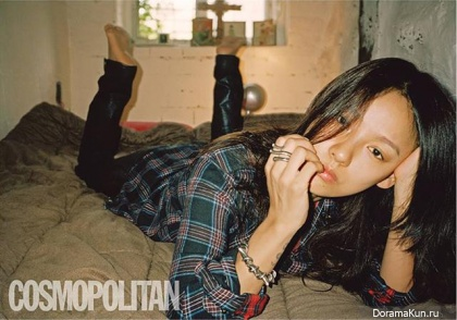 Lee Hyori для Cosmopolitan Korea September 2013 Extra