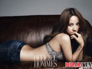 Lee Hyori для L'Officiel Hommes Korea July 2012