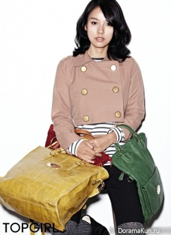 Lee Hyori для Top Girl Fall 2011