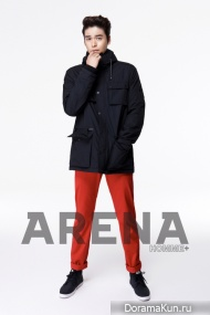 Lee Jang Woo для ARENA HOMME PLUS September 2012