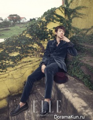 Lee Je Hoon для Elle Korea September 2012