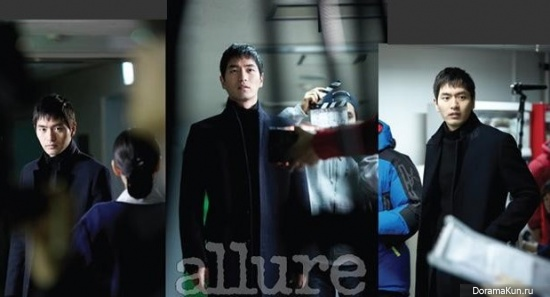Lee Jin Wook для Allure March 2013