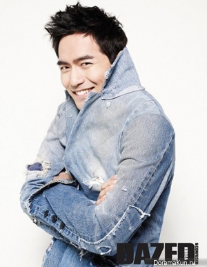 Lee Jin Wook для Dazed & Confused April 2013