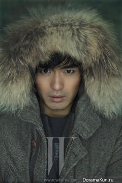Lee Jin Wook для W Korea October 2013