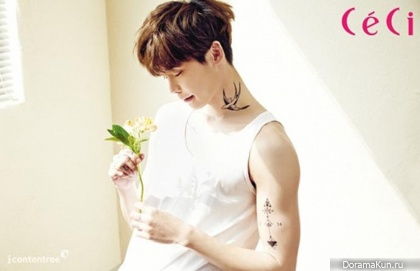 Lee Jong Suk для CeCi Korea May 2014