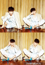 Lee Jong Suk для CeCi Korea October 2013 Extra