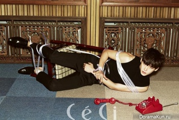 Lee Jong Suk для CeCi Korea October 2013