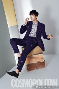 Lee Jong Suk для Cosmopolitan Korea October 2013