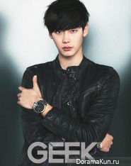 Lee Jong Suk для GEEK Korea December 2013
