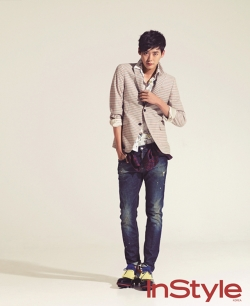 Lee Jong Seok для InStyle Korea February 2012