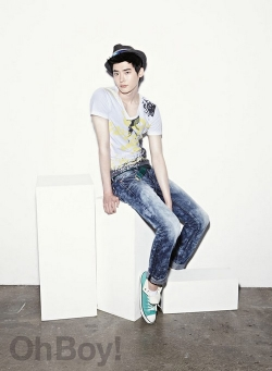 Lee Jong Suk для Oh Boy! June/July 2011